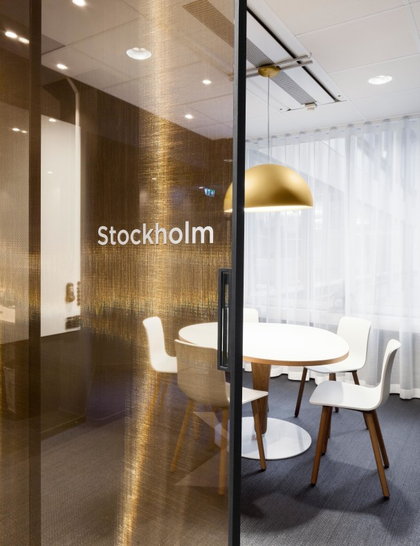 Svensk Filmindustri's office in Stockholm