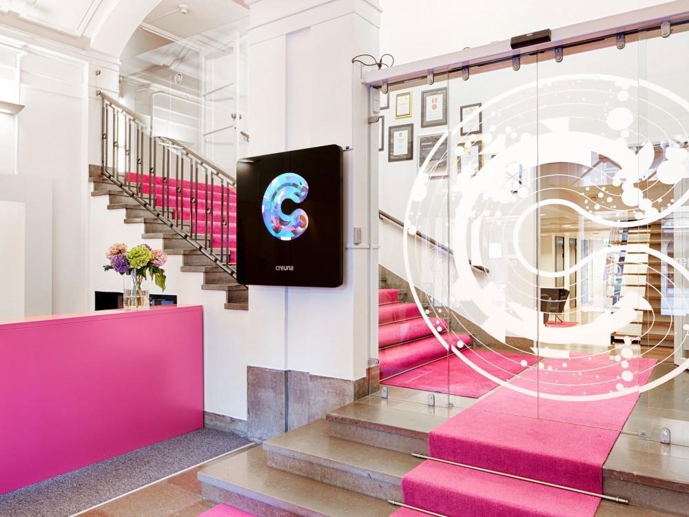 Creunas kontor i Stockholm