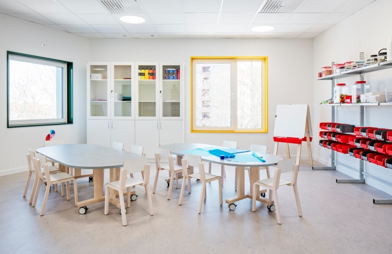 Förskolan Typografen i Stockholm