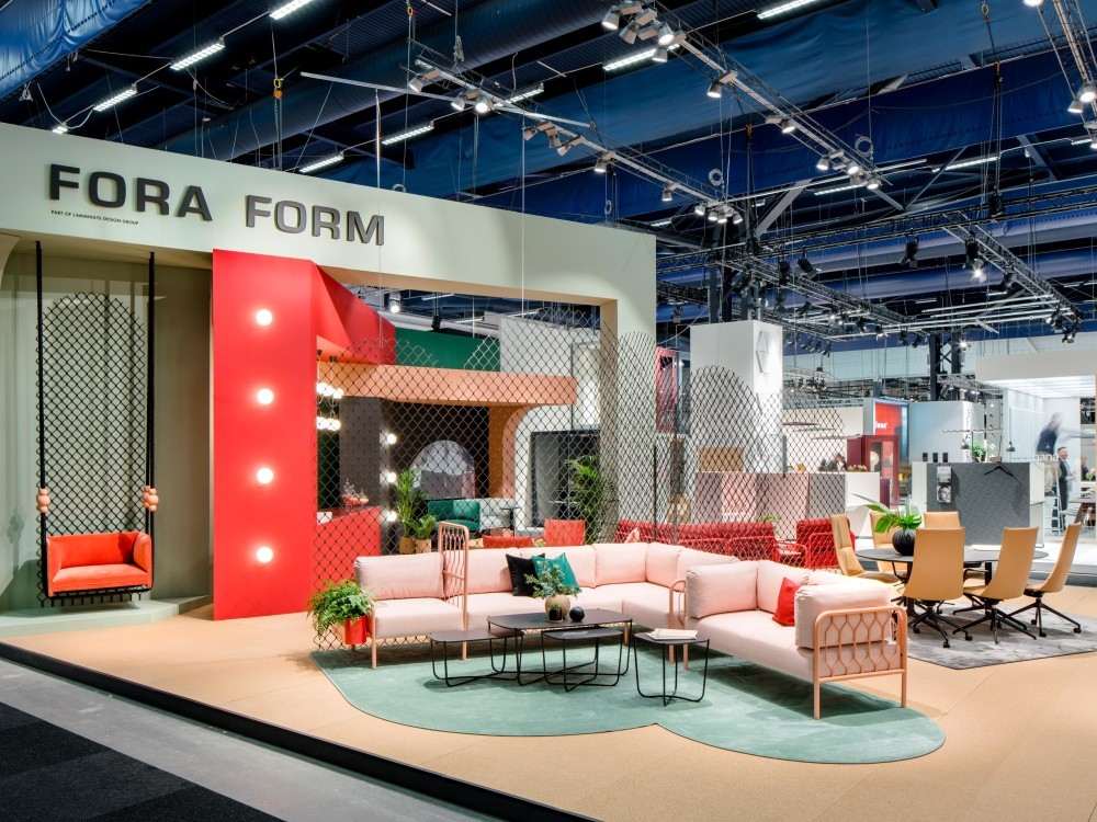 Fora Forms monter på Stockholm Furniture & Light Fair 2018