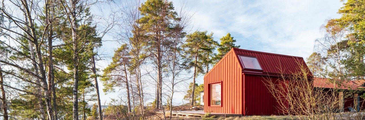 Monochrome House av Lookofsky Architecture, fotograferat av arkitekturfotograf Mattias Hamrén