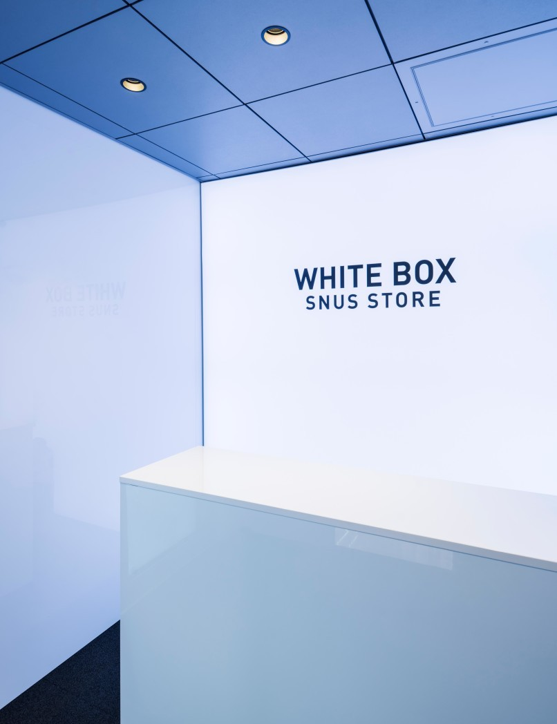 White Box Snus Store in Oslo