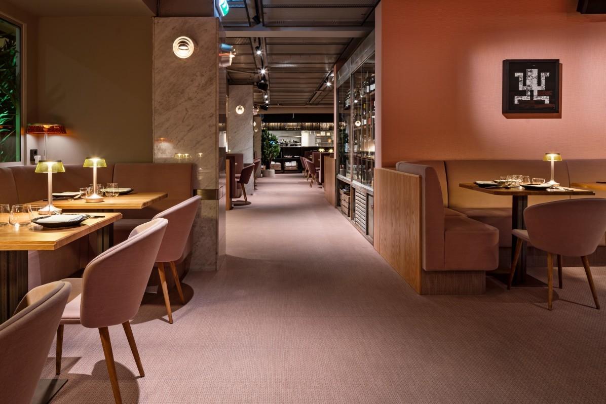 Interiörfoto av peruansk-japanska restaurangen Videgård fotograferat av Mattia Hamrén.