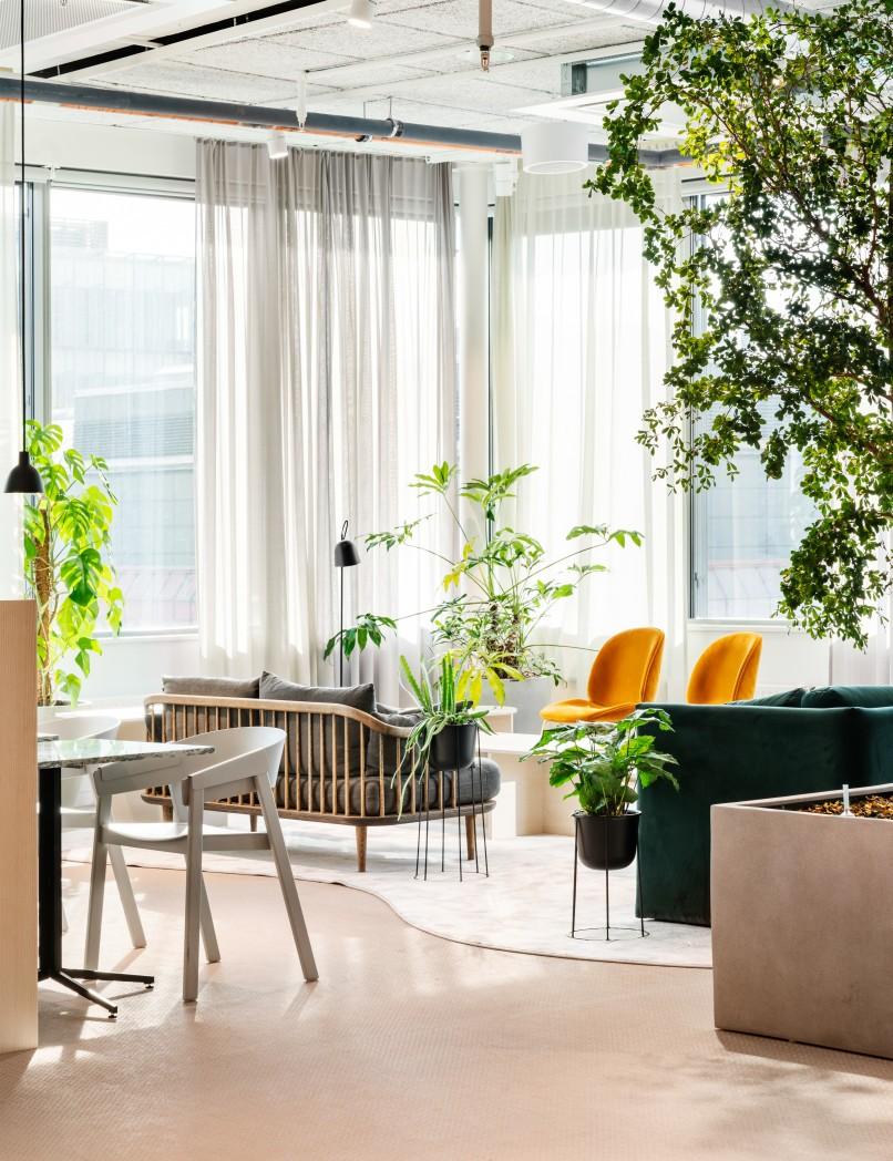 AMF Fastigheters huvudkontor i Stockholm.