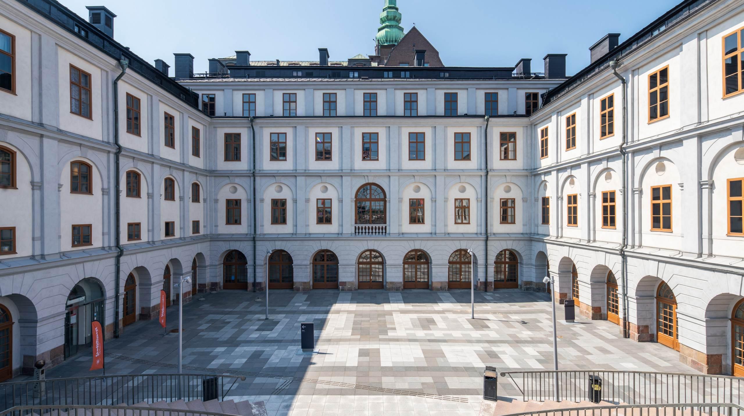 Stockholm City Museum. Photographed by architectural photographer Mattias Hamrén.