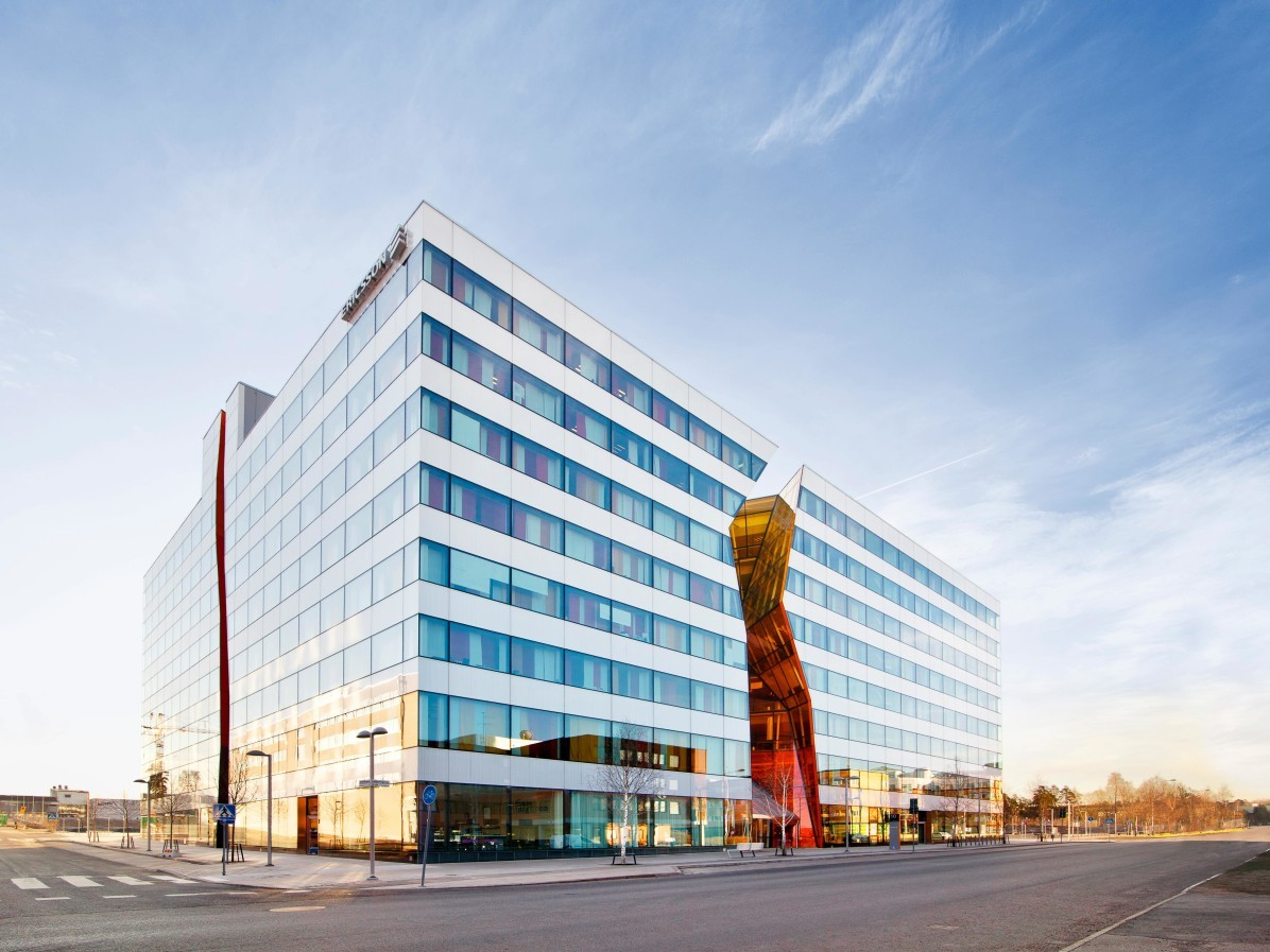 Ericsson's office in Kista, Stockholm