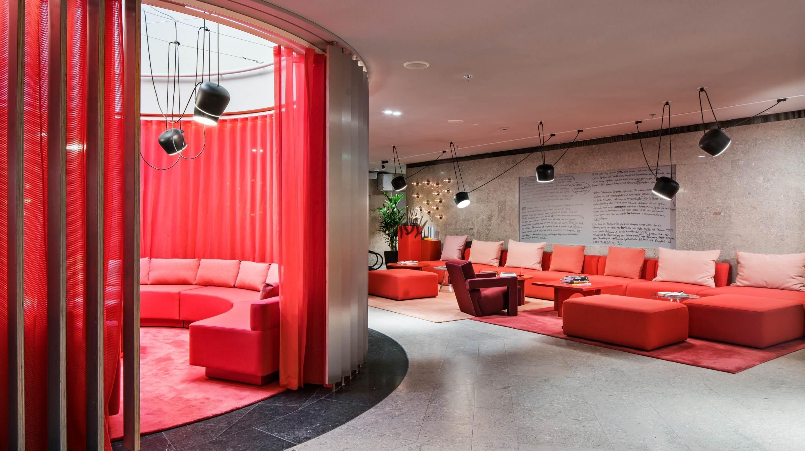 Helio GT30, kontorshotell i Stockholm. Fotograferat av arkitekturfotograf Mattias Hamrén.