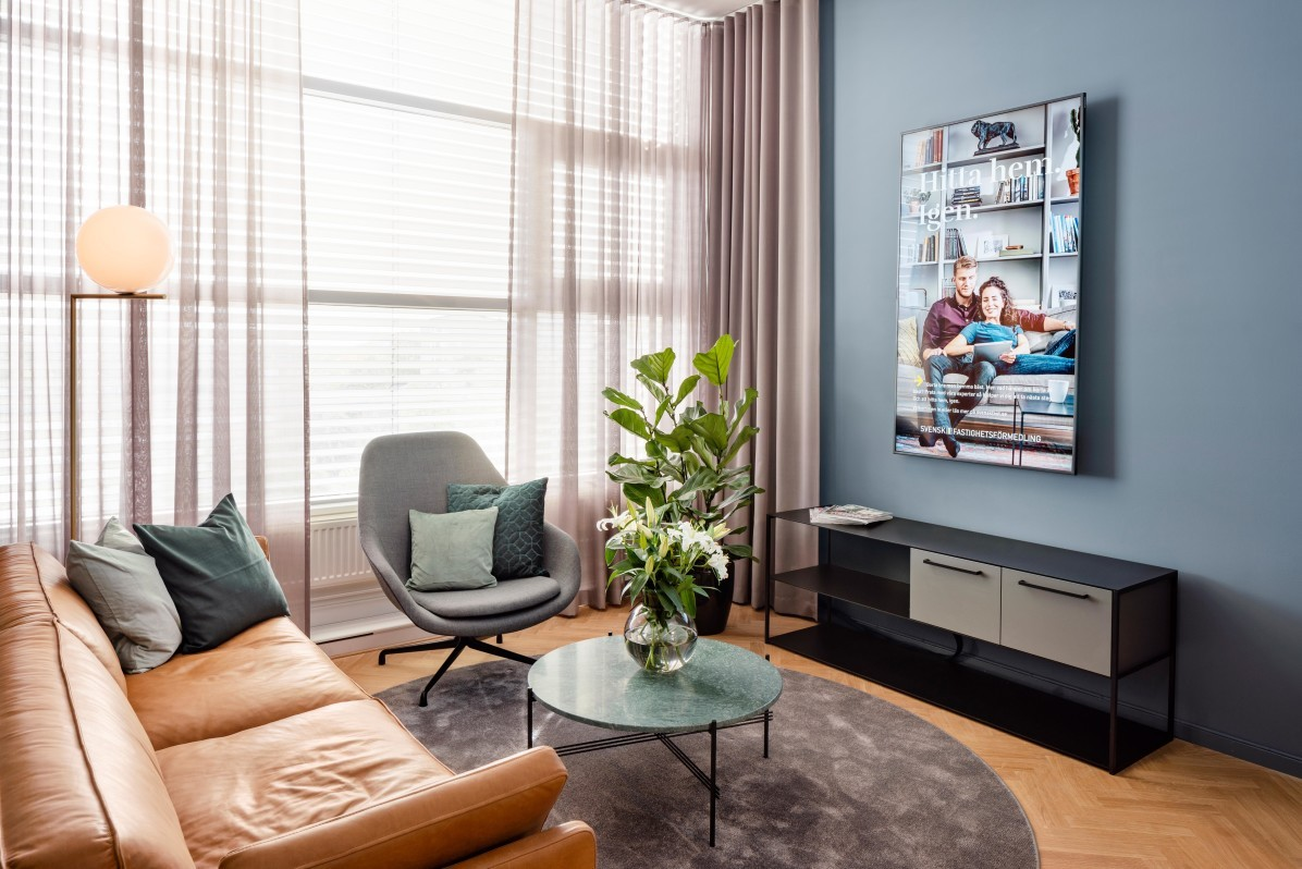 Svensk Fastighetsförmedling lounge