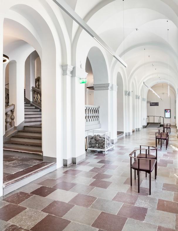 Stadsmuseet i Stockholm. Fotograferat av arkitekturfotograf Mattias Hamrén.