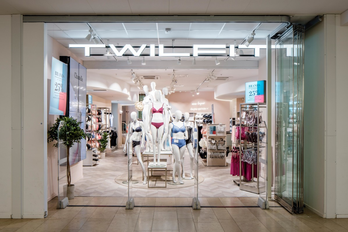 Twilfit i Gallerian