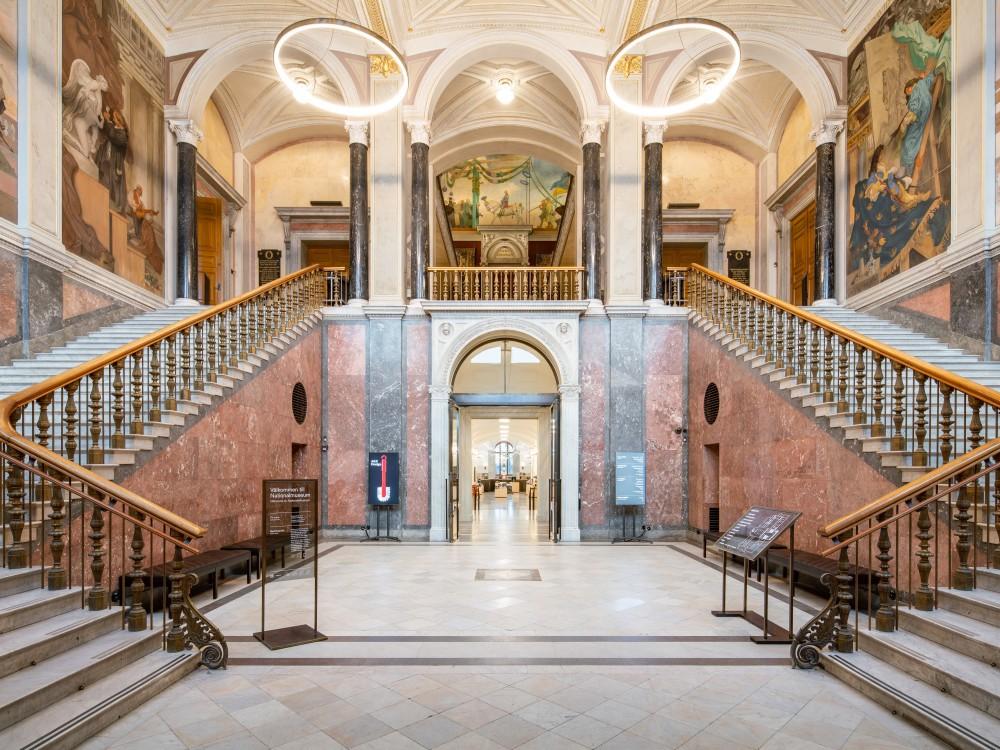 Nationalmuseum i Stockholm, fotograferad av arkitekturfotograf Mattias Hamrén.