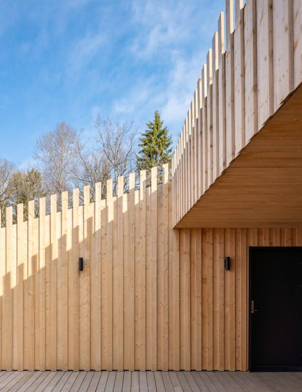 Skapaskolan i Huddinge av Street Monkey Architects.