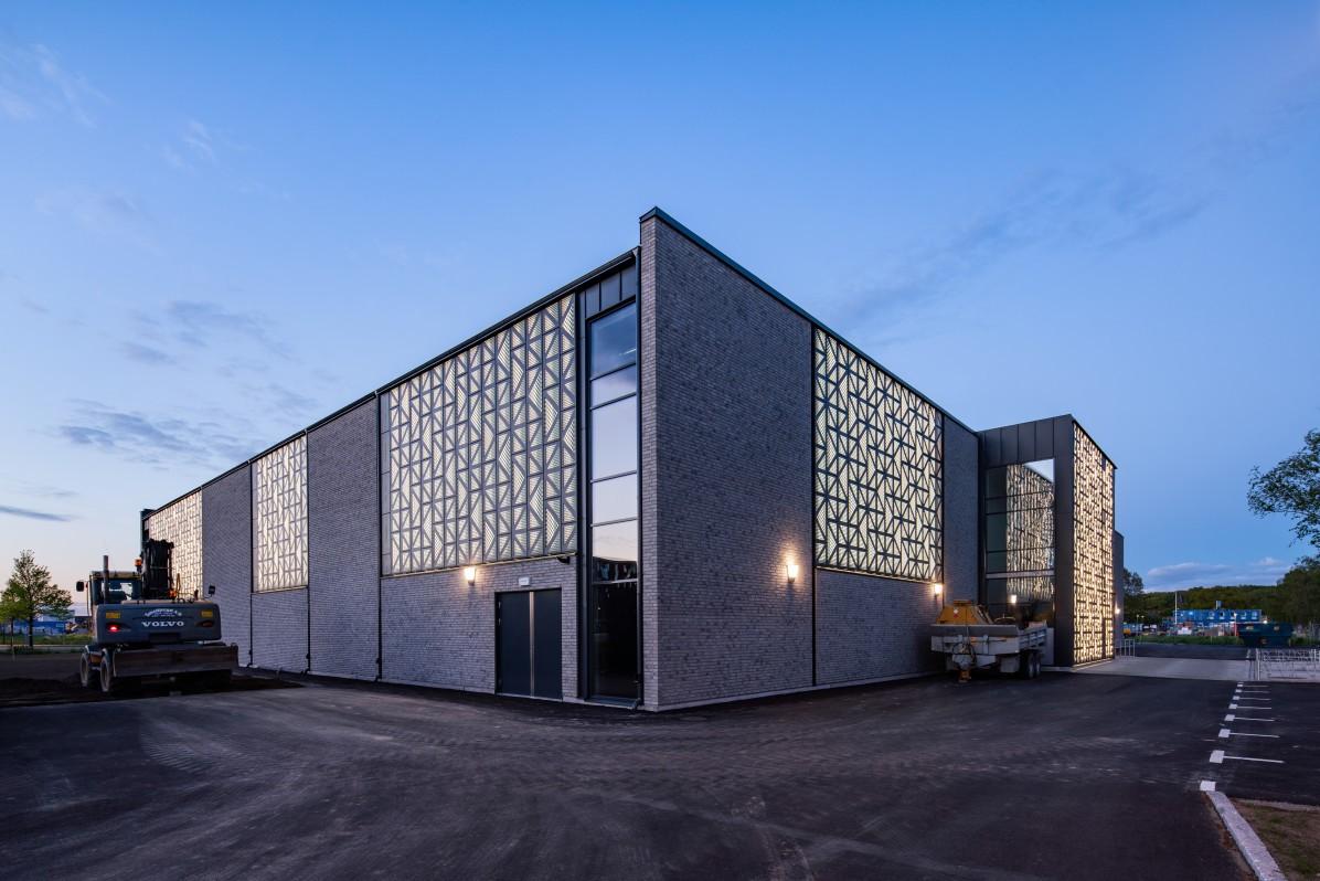 Mariahallen in Helsingborg. Photographed by architectural photographer Mattias Hamrén.
