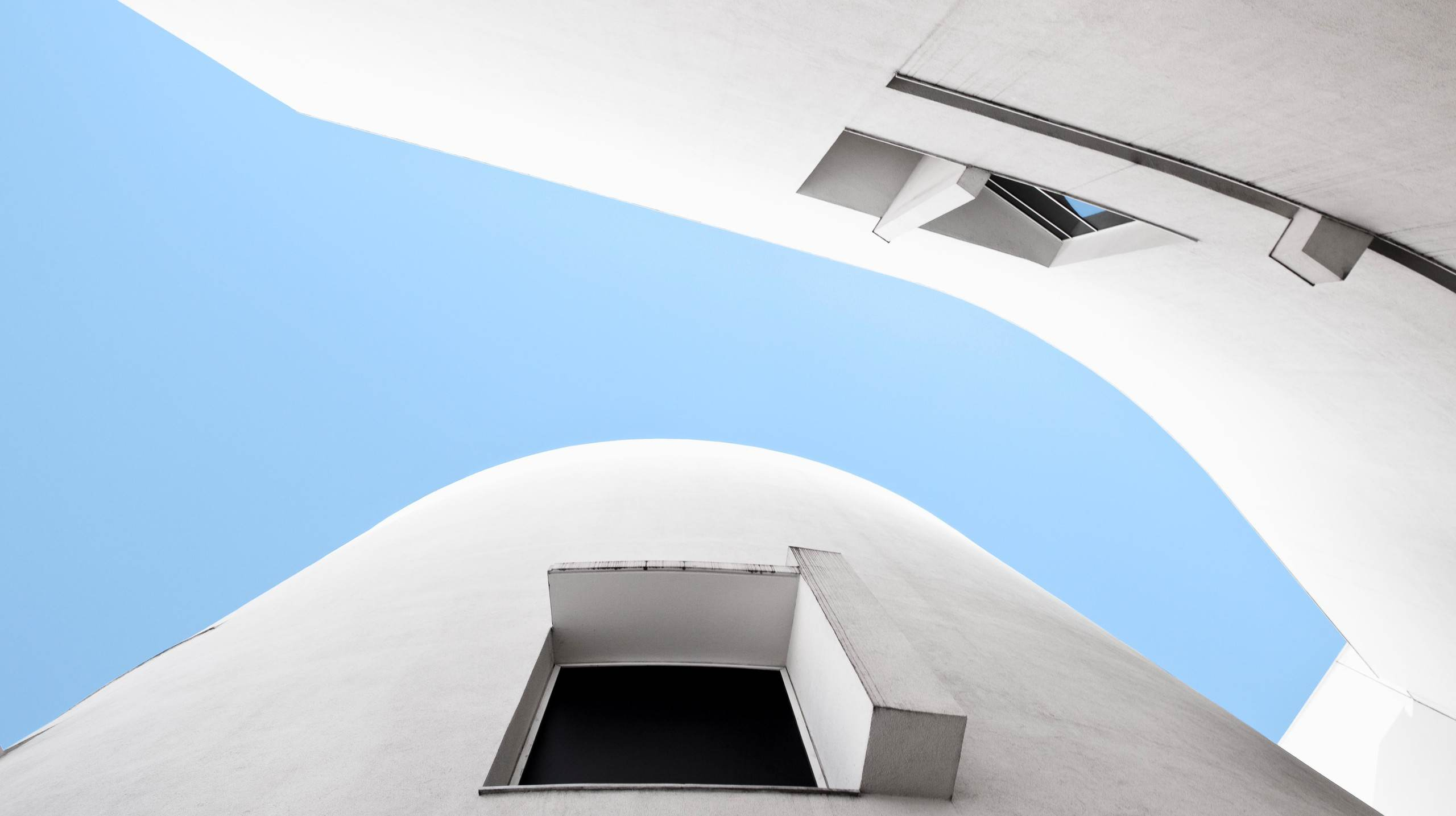 Museu d'Art Contemporani de Barcelona fotograferat av arkitekturfotograf Mattias Hamrén.