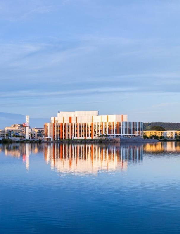 Kulturhuset Spira in Jönköping, Sweden